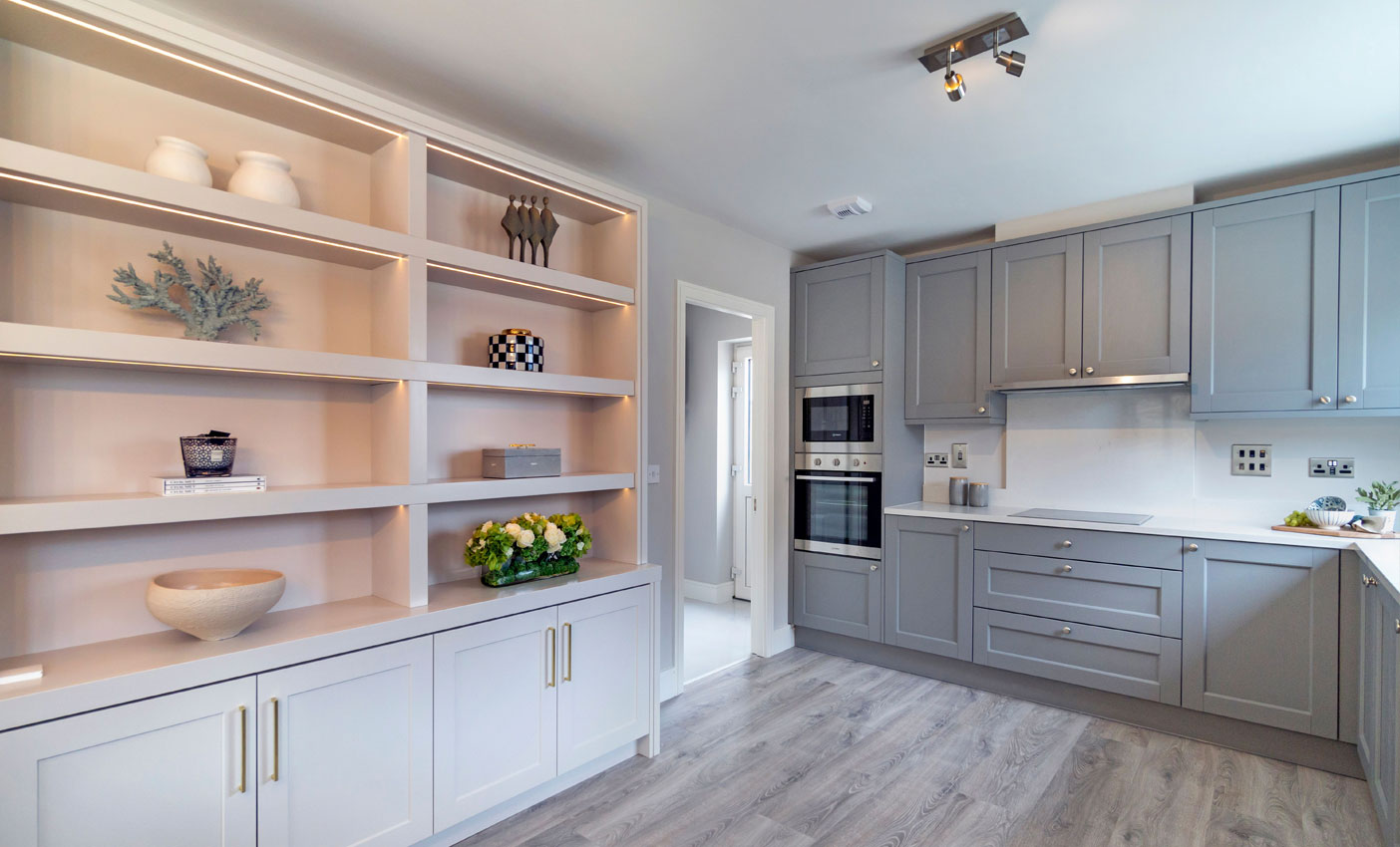 Soft close drawers and doors