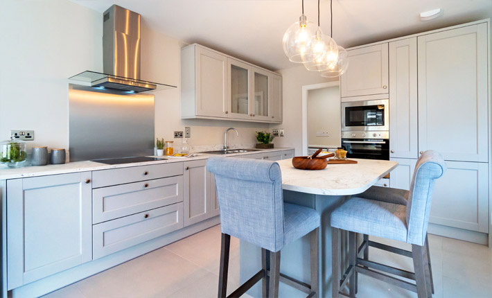 Contemporary styled kitchens