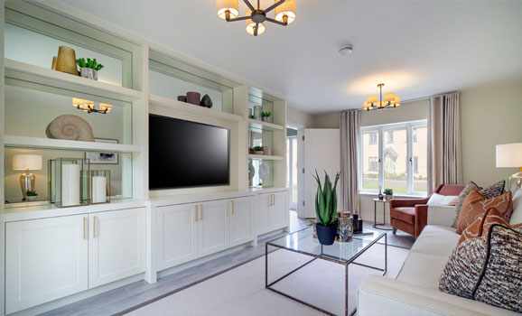 Spacious and generous living areas