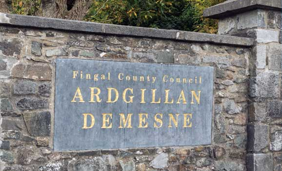Enterance to Ardgillan Castle and Demense